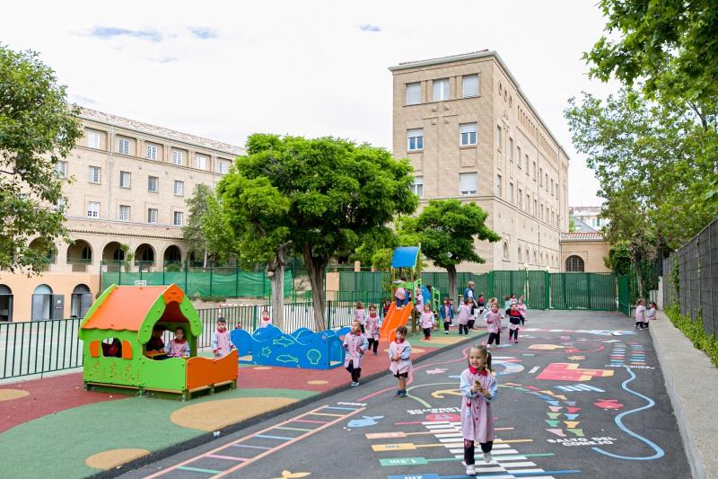 Instalaciones exteriores para Ed. Infantil